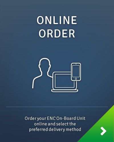 Toll payment with ENC On-Board Unit